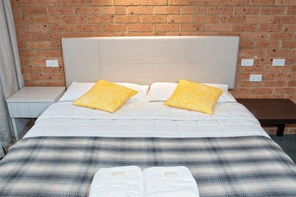 Queen Bed Shot