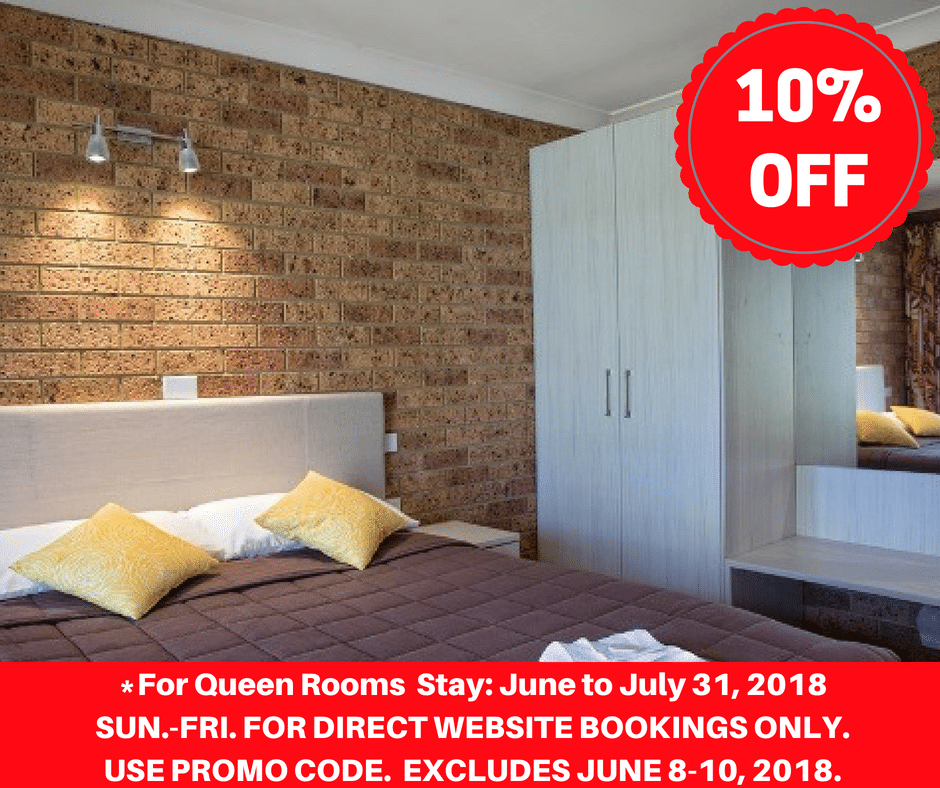 10% OFF June to July 2018