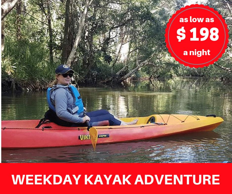 Weekday Kayak Adventure