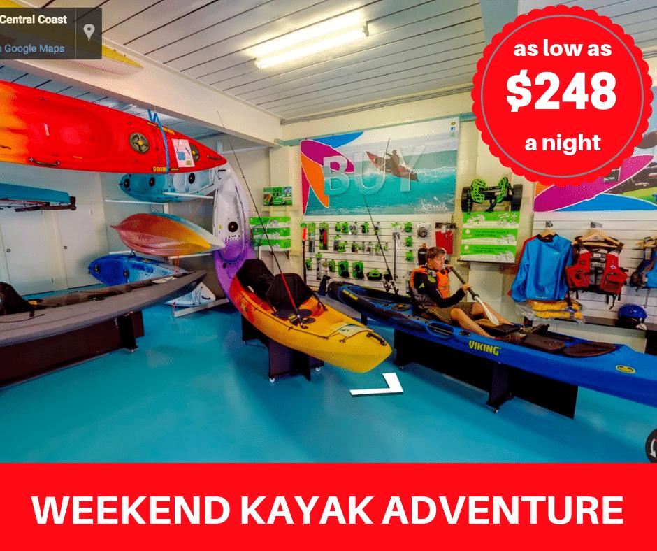 Weekend Kayak Adventure